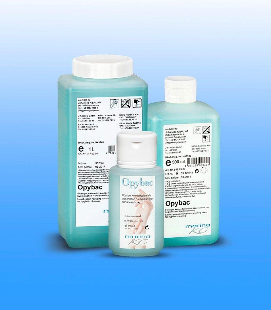 Дезинфицирующий лосьон для гигиенического мытья рук 500 мл, Opybac N, Johannes Kiehl KG