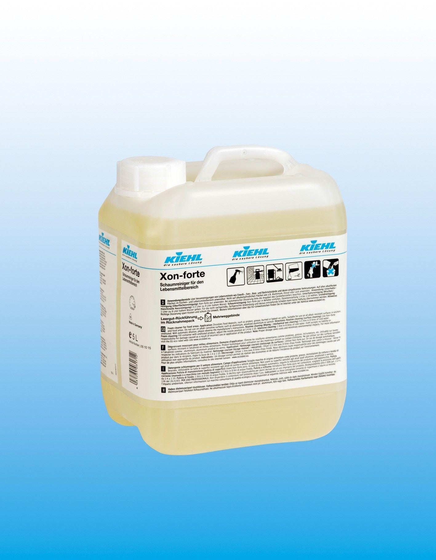 Пенное чистящее средство для печей и грилей (удаление нагара), флакон 750 мл, XON-forte, Johannes Kiehl KG