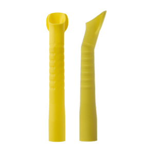 Наконечники/пылесосов (ЕМ19) автокл.,114 мм d=16мм желтые