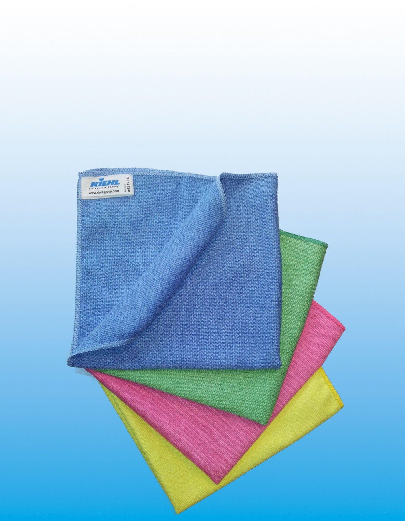 Микроволоконная салфетка 40х35 см, синяя, fine,  Johannes Kiehl KG
