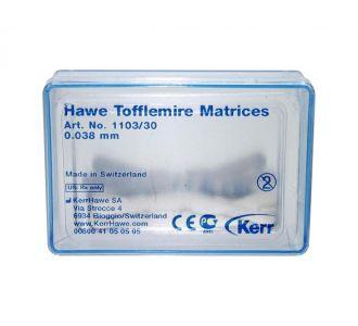 Матрицы Kerr Hawe Neos Dental №1103 30шт