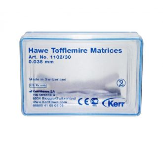 Матрицы Kerr Hawe Neos Dental №1102/30 30шт
