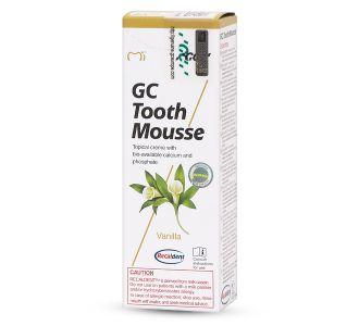 GC Tooth Mousse - аппликационный крем, ваниль 40г