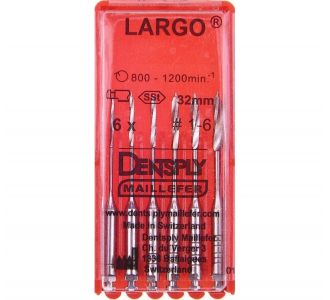 Инструмент машинный Maillefer Largo Pesso Reamer №4 32мм 6шт A000924000412