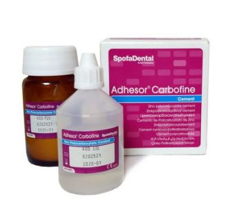 Цемент Adhesor Carbofine - цемент, 80г+40мл