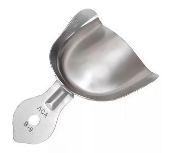Ложка слепочная металлическая верхняя гладкая