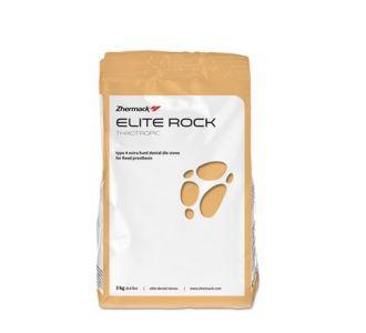 Гипс Zhermack Elite Rock 4 класс 3кг серебристо-серый С410010