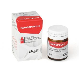 Камфорфен-В - паста для пломбирования каналов 20г