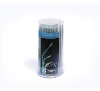 Аппликаторы Denbur Maxi-Brush Blue-Large, в диспенсере, 150шт