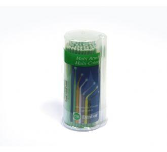 Аппликаторы Denbur Multi-Brush Small, зеленые, диспенсер 100шт