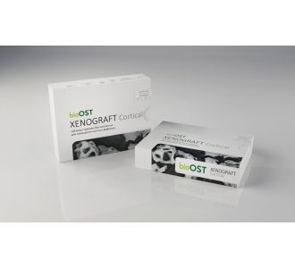 Гранулы bioOST XENOGRAFT Cortical  с коллагеном 0.5 - 1.0мм, XCr-1-1